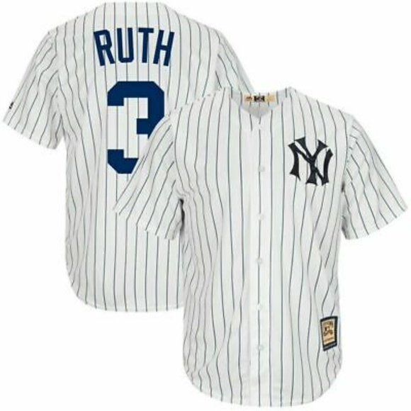 new concept ee32d 6bfed Babe Ruth New York Yankees Baseball⚾ Player Jersey